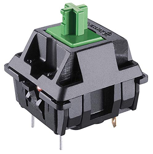 Cherry MX Green Mechanical Key Switch   Plate Mount (3pin)   108 pcs