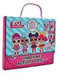 LOL Surprise Confetti Pop Libro da Colorare Libri con 700 Adesivi per Bambini Cruciverba Bambole LOL Glam Glitter
