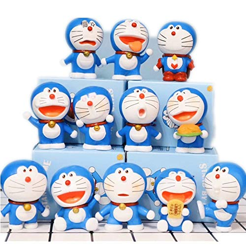 Dhl 12 Art Wax Tinkerbell Roboter-Katze EIN Traum Puppe Puppe Dekoration Spielzeug Backen-Kuchen-Dekoration 5-6cm