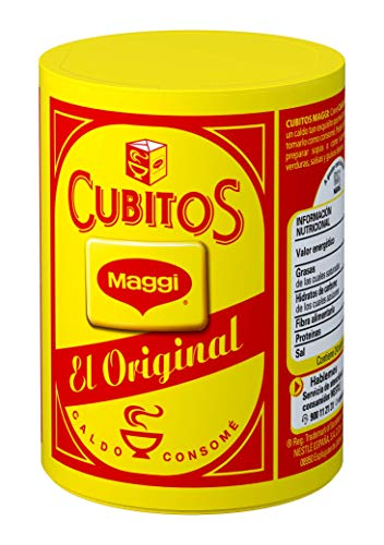 Maggi Pastillas para Caldo en Cubitos Caldo Deshidratado, 24 Pastillas