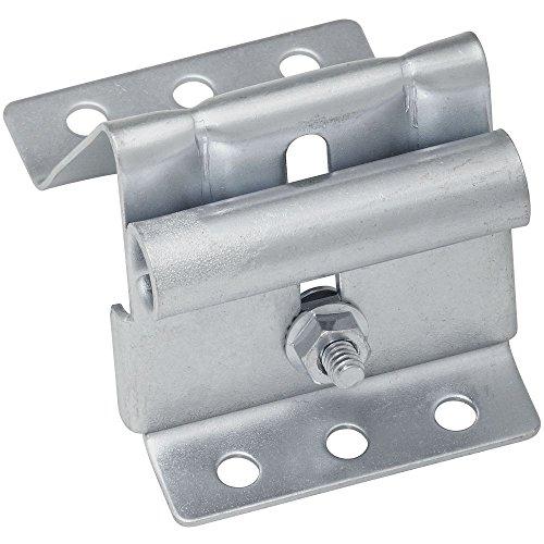 National Hardware N280-495 V7628 Adjustable Top Roller Bracket in Galvanized