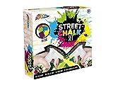 Grafix - Gessetto a spruzzo, gesso con stencil e ricariche