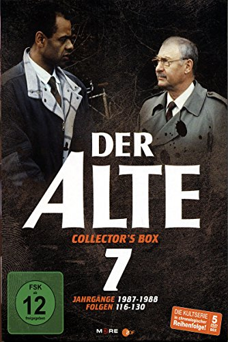 Der Alte - Collector's Box Vol. 07 (Folgen 116-130) [5 DVDs]