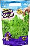 Kinetic Sand, The Original Moldable Sensory Play Sand, Green, 2 lb. Resealable Bag, Ages 3+