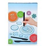 Sarplle Spirograph Spiral Drawing Toys Set de 27 Piezas de Juguetes de Dibujo para Adultos y niños
