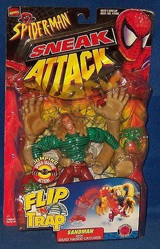 Spider-Man Sneak Attack Flip N' Trap Sandman Action Figure by Spider-Man