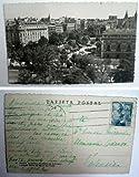 Antigua postal fotográfica. Old photo post card. Nº 36 - MADRID - Hotel Ritz. Academia de la Lengua y entrada Norte del Museo del Prado