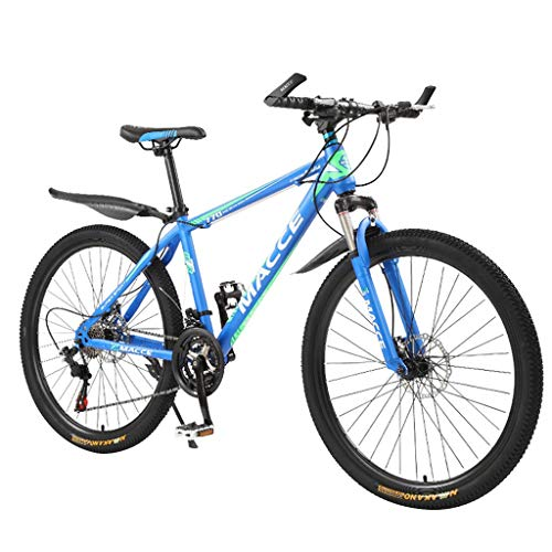 Best Bargain 26in Mountain Bike, Aluminum Full Suspension Road Bike 21 Speed with Disc Brake,Compa...