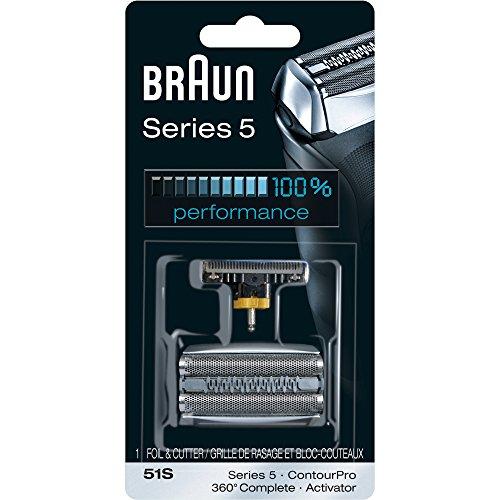 Cabeza de repuesto y hojas para cortador Braun Series 5 51S
