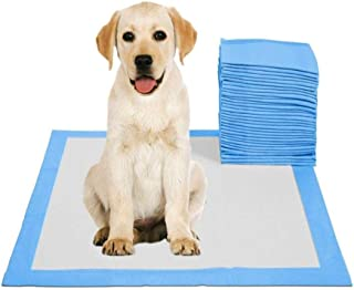 50pcs Pets Pee Pads Disposable Absorbent Quick Drying Leak-Proof Pads for Potty Training 60x90cm
