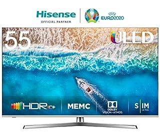 Hisense H55U7BE - Smart TV ULED 55' 4K Ultra HD con Alexa Integrada, Bluetooth, Dolby Vision HDR, HDR 10+, Audio Dolby Atmos, Ultra Dimming, Smart TV VIDAA U 3.0 IA, mando con micrófono (B07QGVL9WR) | Amazon price tracker / tracking, Amazon price history charts, Amazon price watches, Amazon price drop alerts