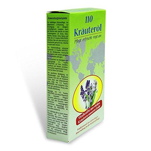 Olio di erbe aromatiche 110 erbe per la cura del corpo (1 bottiglia)