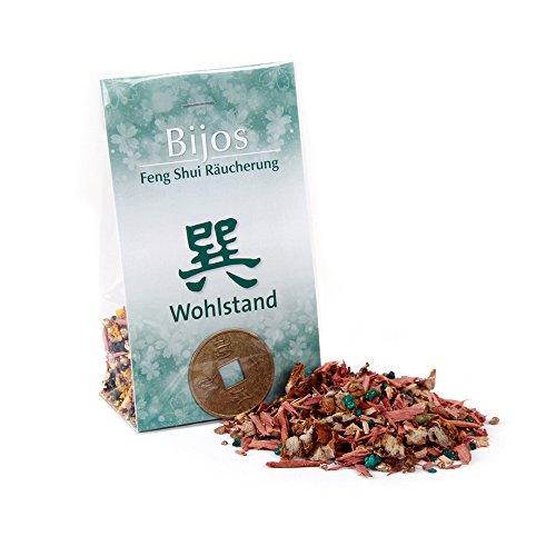 Incienso Feng Shui PROSPERIDAD - SUN incluye moneda de la suerte china, para la riqueza material y espiritual, 33 g