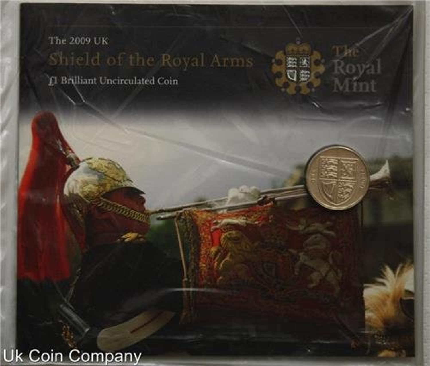 2009 Brilliant Uncirculated Royal Arms Coin Pack