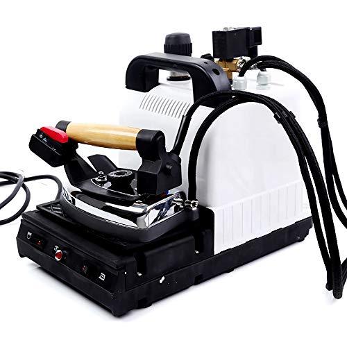 NEWTRY - Plancha de Vapor Industrial eléctrica Profesional con Calentador de Hierro, Tanque de Acero Inoxidable, 1000 W, Voltaje: 110 V.