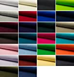 Fabrics-City HOCHWERTIG Baumwolle Stretch SAMT Stoff Nicki