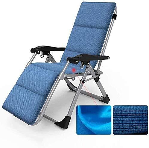 DAGCOT Las sillas reclinables Tumbona inclinado gravedad cero Tumbona reclinable silla de jardín Adecuado for su Patio Jardín Terraza Césped portátil for acampar Apoyos for sillas de 200kg silla balan