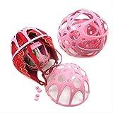 2 Stück Hot Balls zum Waschen von BHs Ball Wäschesäcke Waschmaschine BH Saver Bra Verkauf Sales Double Bubble Eco Friendly