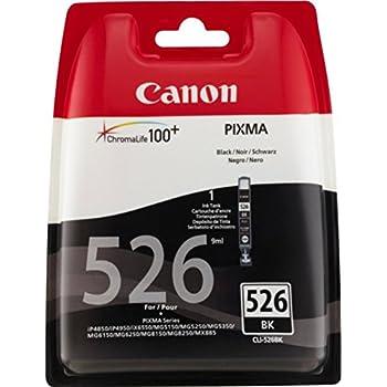 Canon CLI-526 Cartouche BK Noire (Pack plastique sécurisé)