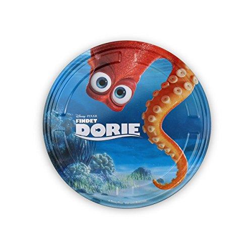 Findet Dorie Filmdose mit Sticker