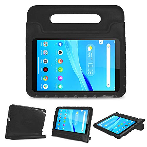 ProCase Kids Case for Lenovo Tab M8 HD/Smart Tab M8 / Tab M8 FHD 2019 Case, Shockproof Handle Stand Cover, Lightweight Kids Friendly Case –Black