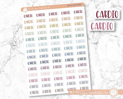 Foiled Header Planner Stickers Divider Stickers for ECLP Confetti Foil Color On Clear Transparent Stickers #909-017-003-CF