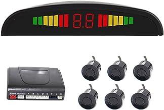 $25 » Vehicle Reverse Backup Radar System Car Radar System Packing Sensor Kit 6 Sensors Auto Safety LED Display with Warning Buzzer