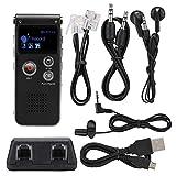 SK-012 8G ABS Grabadora de Voz Grabadora de Voz Digital Grabación de teléfono Grabadora de Dictado de música sin pérdida Reducción Inteligente de...