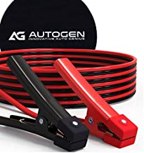 AUTOGEN Jumper Cables 1 Gauge 30 Ft 900A Heavy Duty Booster Cables with Professional Grade Clamps