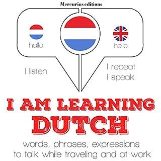 Couverture de I am learning Dutch