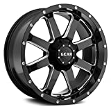 Gear Alloy 726MB BIG BLOCK Wheel with Milled Finish (20x12'/8x6.5', -44mm Offset)