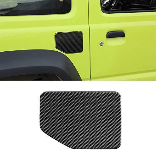NBPLUS Accesorio para coche con aspecto de fibra de carbono para tapa de depósito, adhesivo decorativo para Suzuki Jimny 2019 2020