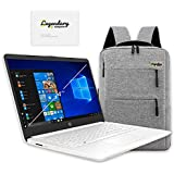 2020 HP 14 inch HD Laptop, Intel Celeron N4020, 4GB DDR4, 64GB eMMC Storage, Webcam, HDMI, Office 365 Personal for 1 Year, Windows 10 S /Legendary Accessories (Google Classroom or Zoom Compatible)