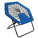 Harvil Portable Hexagon Bungee Chair, Blue