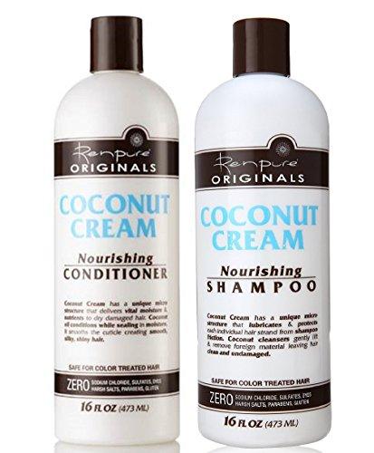 Renpure Coconut Cream Nourishing Shampoo &...