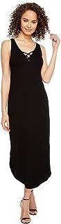 فستان مايكل ستارز للنساء 2×1 من الأمام إلى الخلف بأربطة من الأمام إلى الخلف