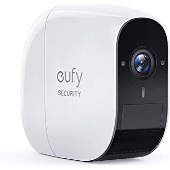 eufy Security eufyCam E, Wireless Security Camera, 365-Day Battery Life, 1080P HD, 2-Way Audio, IP65 Weatherproof, Indoor and Outdoor Use, Add-On Camera, Requires HomeBase or HomeBase E, Homebase 2