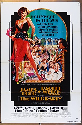 The Wild Party (1975) Original One Sheet Poster (27x41) RAQUEL WELCH JAMES COCO