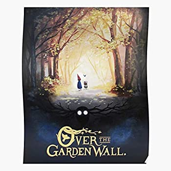 Unknown Wirt Greg Over Beast Movie Wall Garden The Adventure Best Wall Art for Home Decoration 16x24 Inches