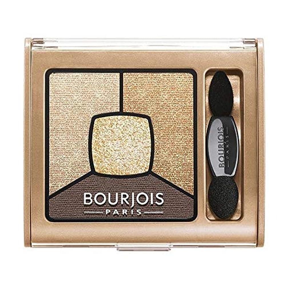 [Bourjois ] ブルジョワスモーキー話クワッドアイシャドウ - ゴールド版 - Bourjois Smoky Stories Quad Eyeshadow - Gold Edition [並行輸入品]