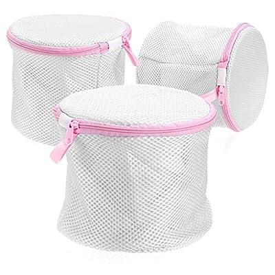 IGNPION Bra Washing Bag Laundry Lingerie Wash Bag for Underwear, Delicates,Intimates,Socks(Set of 3)