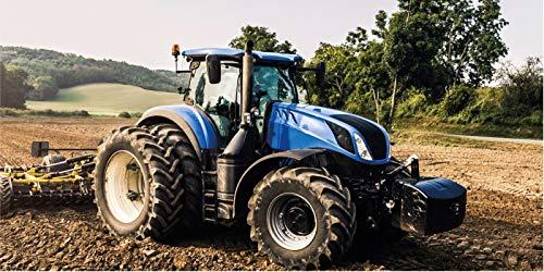 BrandMac ApS Traktor Handtuch 70x140 cm Baumwolle Badetuch Strandtuch Duschtuch Trecker Bauernhof