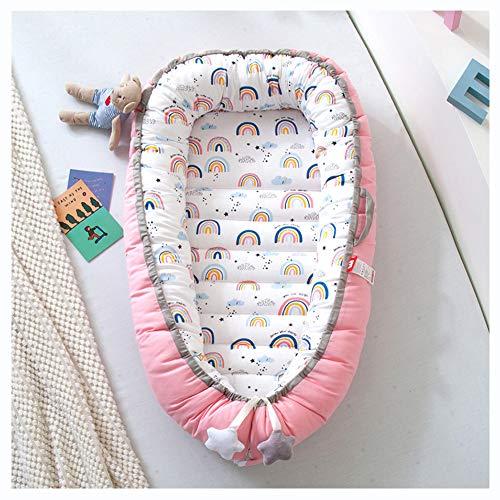 Nido para Bebés Recién Nacidos Y Bebés, Cama para Tumbona, Vaina para Dormir para Niños Pequeños con Algodón Hipoalergénico,F2,50x85cm