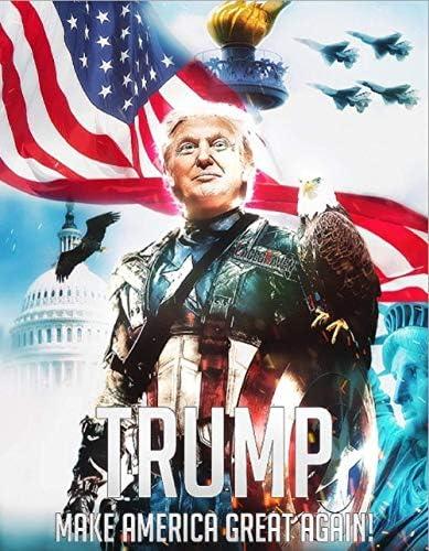 Tank Trump 2020 President US Keep America Great Make Donald 3x5 Ft Flag