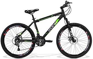 Bicicleta GTS Aro 26 Freio a Disco Câmbio Traseiro Shimano 21 Marchas Amortecedor e Velocímetro de Brinde | GTS M1 Walk New