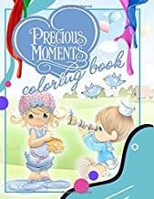 Precious Moments Coloring Book: Precious Moments Jumbo Coloring Book With Premium Images For All Ages