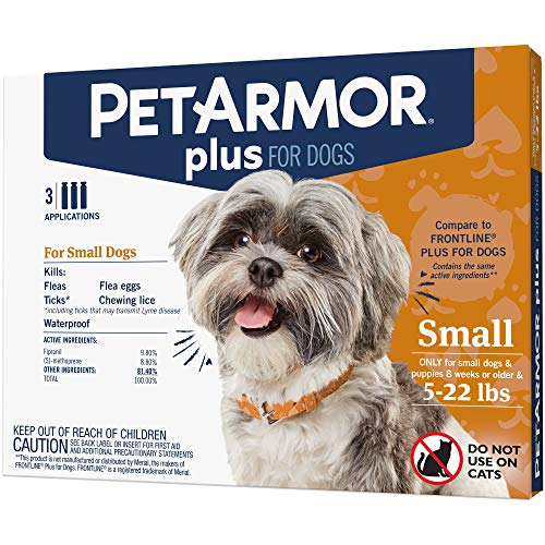 PETARMOR Plus for Dogs Flea and Tick Prevention...