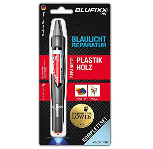Blufixx* PW Blaulicht-Reparatur Komplett-Set für Plastik und Holz (Made in Germany)