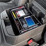 PIMCAR Center Console Organizer Compatible with 2020 2021 Chevy Silverado/GMC Sierra 1500/2500 HD/3500 HD Accessories and 2019 Chevy Silverado 1500/GMC Sierra 1500 - Full Console w/Bucket Seats ONLY