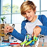Meccano Action Springs Innovation Set STEAM Building Kit, for Kids Aged 10 and Up